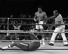 1974 Boxing MUHAMMAD Ali vs GEORGE FOREMAN Rumble in the Jungle Print