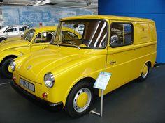 VW Fridolin, built for postal service with 2 sliding doors
