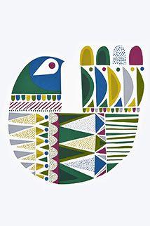images for sanna annukka christmas ornaments Scandinavian Pattern, Scandinavian Folk Art, Round Robin, Scandi Art, Arte Popular, Naive Art, Bird Design, Bird Art, Retro