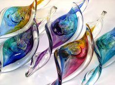 Almanac Retail image: Blown Glass Suncatchers: Glass Suncatchers ecard photos