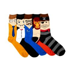 Shop for Mens Funny Faces Crew Socks 5 Pack in Multi at Journeys Shoes. Shop today for the hottest brands in mens shoes and womens shoes at Journeys.com.Five pack of classic style crew socks featuring an assortment of fanny face characters.