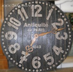 Oversized Pallet Clocks