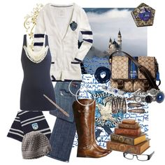 Harry Potter Inspired Fashion: Ravenclaw