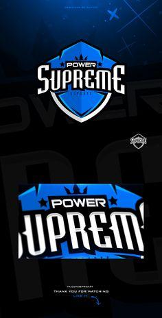 SupremePower E-sport team on Behance