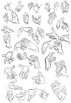 Study - Milt Kahl - Hands 1 by *Tashy497 on deviantART