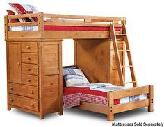 Twin Loft With 2 Chests - Art Van Furniture