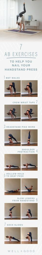 Ab Exercises for a Headstand Press