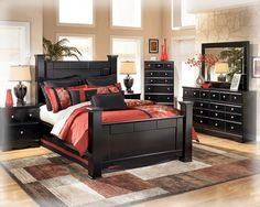 The Shay Bedroom Set Brings Together A Rich Dark Finish With Sophisticated Detailing To Create Furniture That Is Sure Awaken Decor Of Any