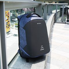 Oxford Large Capacity Waterproof Backpack USB Charging Business Laptop Bag Anti-theft Travel Bag is high-quality. Shop on NewChic and buy the best mens backpack for yourself. Cool Backpacks For Men, Men's Backpacks, Anti Theft Backpack, Bag Packaging, Waterproof Backpack, Computer Bags, Laptop Bag, School Bags, St Kitts And Nevis