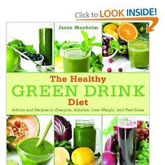 The Healthy GREEN DRINK Diet Book has the recipes you need to bring more Chlorophyll in your Diet. Chlorophyll will Detox your body, removes HEAVY Metals from your body. www.selfmender.com