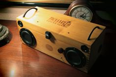 Large & Powerful Audiophile Bluetooth Stereo by UniqueHighFidelity