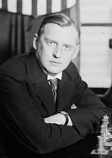 Alexander Alexandrovich Alekhine   chess 1920's