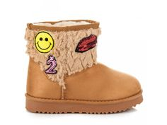 Hnedé snehule s nášivkami Ugg Boots, Uggs, Shoes, Fashion, Moda, Zapatos, Shoes Outlet, Fashion Styles, Shoe