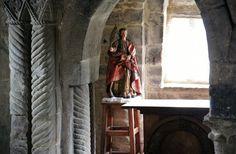 Visigothic, Santa Cristina, Beige, Grey, Dark, Brown, Interior, Painting, Traveling