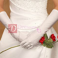 In case anyone else is toying with the idea of gloves (Formal or Bridal Gloves Style GLME) Wedding Gloves, Wedding Veils, Wedding Dresses, Bridal Comb, Bridal Headpieces, Formal Wedding Attire, Wedding Dress Accessories, Marrying My Best Friend, Perfect Wedding Dress