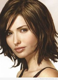 short to medium hairstyles for thick straight hair (4) 2014 ...