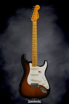 Only at Sweetwater! ✅ Inspection for your Fender Eric Johnson Stratocaster Sunburst with Maple Fingerboard! American Special Stratocaster, Fender American Special, American Standard Stratocaster, Fender American Standard, Fender Stratocaster Red, Telecaster Custom, Fender Guitars, Bass Guitars, Fender Acoustic