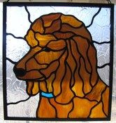 stained glass poodle - Recherche Google