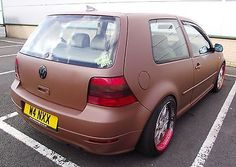 VOLKSWAGEN MK4 GOLF GTI 1.8T TURBO MODIFIED LOWERED