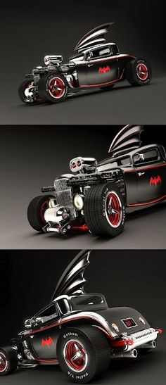 '50s Hot Rod Batmobile