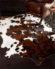 Details about New Large Cowhide Rug Patchwork Cowskin Cow Hide Leather Carpet Brown White - Best Rugs - Ideas of Best Rugs - Cowhide Rug Cow Hide Genuine Cowhide Leather Carpet Rawhide Soft Brown And White Cowhide Decor, Faux Cowhide Rug, White Cowhide Rug, Cowhide Leather, Cowhide Furniture, Cowhide Bag, Leather Hides, Painted Furniture, Modern Furniture