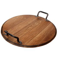 large wine barrel cheese board