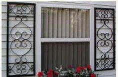 Shutter Front Door Colors On Pinterest Wrought Iron