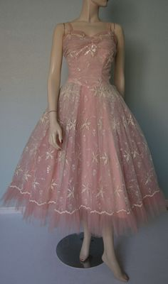 Amazing 1950s Don Loper Couture // Fairy by KittyGirlVintage