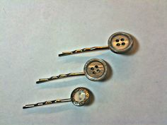 Button Bobby Pins  for all items Coupons: buy1 use Code SPR1NG12 get 10% off --- buy 2 use code JXF2X15 get 15% off ---- buy 3 use code BUYME3 get 25% off --- or use SAVEWME for Free shipping Domestic only