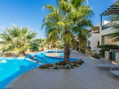 Panormos apartment rental - Guests are welcome to relax at the pool all day long!