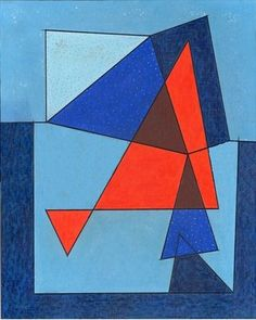 """GEOMETRISM... THIS IS """"FIRE DANCE"""" WITH A HINT OF """"MALEVICH""""... http://www.magnoliabox.com/content/phm"""