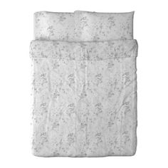 I love this simple duvet cover - plain white with dark gray simple designs can be easily coordinated with light yellows!