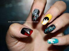 DIY Halloween Nails : Star Trek Nail Art