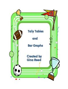 Two free data collection activities for utilizing tally tables and bar graphs in the GAISE format of posing a question, collecting data, analyzing data, and interpretation of results. Math Classroom, Kindergarten Math, Maths, Math Tables, Bar Graphs, Third Grade Math, Data Collection, Elementary Math, Math Lessons