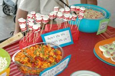 Dr. Suess themed party food