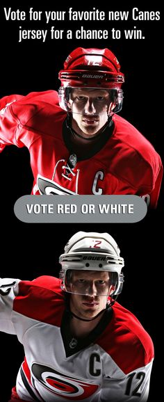 Vote for your favorite new Canes uniform for a chance to win a set of new jerseys and tickets to Opening Night! Enter here: http://m.carhur.com/0jdz