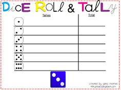 Roll and Record with Tallies