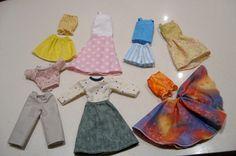 Homemade Barbie Clothes