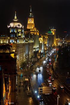 The Bund is home to dozens of historical and colonial buildings.