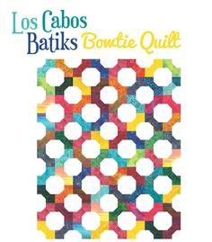 Flashback Friday: Los Cabos Bowtie Quilt « Moda Bake Shop
