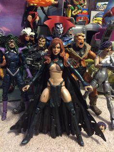 Marvel Legends custom Goblin Queen, Mr. Sinister & the Marauders