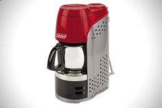 Camping Coffee Maker - Coleman Portable Propane Coffeemaker