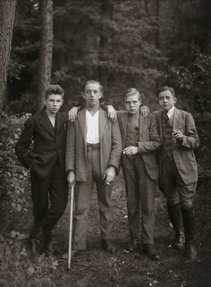 """August Sander. Young Farmers. 1925-27. Gelatin silver print. 10 3/16 x 7 3/8"""" (25.8 x 18.7 cm). Acquired through the generosity of the family of AugustSander. 472.2015.21. © 2017 Die Photographische Sammlung / SK Stiftung Kultur - August Sander Archiv, Cologne / ARS, NY. Photography"""