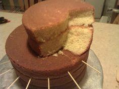 Spiral Cake tutorial