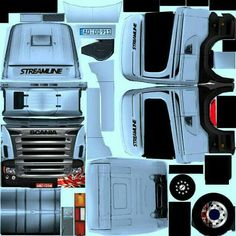 Skin Images, Heavy Truck, Oragami, Paper Folding, Paper Models, Paper Toys, Bugatti, Jeep, Trucks