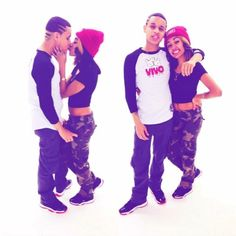 Cute couple swag!