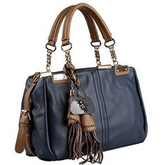 Hynes Eagle Vintage Handbags Fashion Tassels Top Handle Handbag