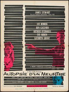 Anatomy of a Murder (Otto Preminger, 1959) French design