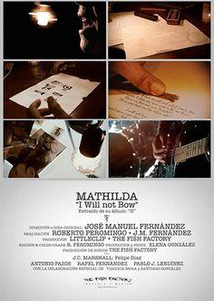 "Mathilda ya ha estrenado su videoclip del tema ""I Will not Bow"" de su disco ""II"""