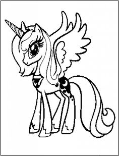 my little pony printable coloring pages | Free Printable My Little Pony Coloring Pages For Kids